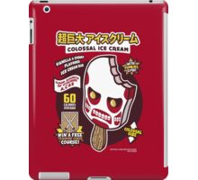 Colossal Ice Cream iPad Case/Skin