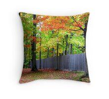 Autumn trees  Throw Pillow