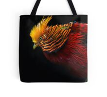 Multi Colored Bird  Tote Bag
