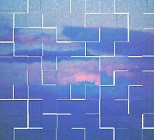Labyrinth Blue by Maria Moreno