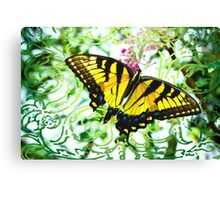 Broken Butterfly  Canvas Print