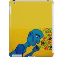 Blue Man iPad Case/Skin