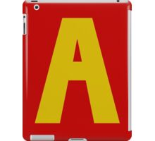 A is for Alvin iPad Case/Skin