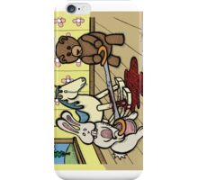 Teddy Bear and Bunny - The Price Of Freedom iPhone Case/Skin