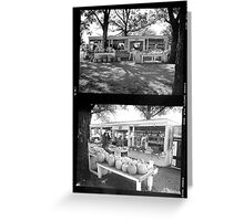 Produce Stand, Garland, Texas Greeting Card