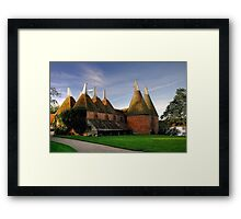 Sissinghurst Oasts Framed Print