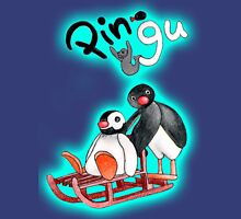 pingu final Womens Fitted T-Shirt