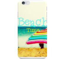 Beach time #3 iPhone Case/Skin
