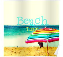 Beach time #3 Poster