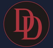 Daredevil - Logo -  Black & Red  Kids Clothes