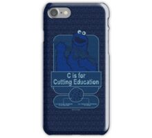 C is for Cutting Education iPhone Case/Skin