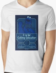 C is for Cutting Education Mens V-Neck T-Shirt