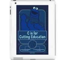 C is for Cutting Education iPad Case/Skin