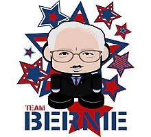 Team Bernie Politico'bot Toy Robot Photographic Print
