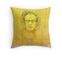 Erwin and The Quantum Fireflies Throw Pillow