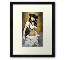 The Captain Framed Print