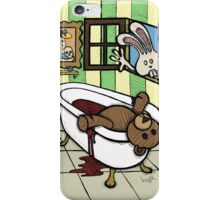 Teddy Bear And Bunny - The Discovery iPhone Case/Skin