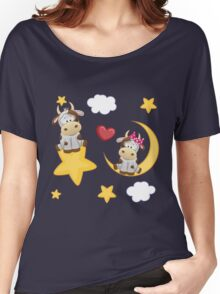 Cute calves in love Women's Relaxed Fit T-Shirt