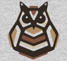 Paper Anigami Owl Kids Tee