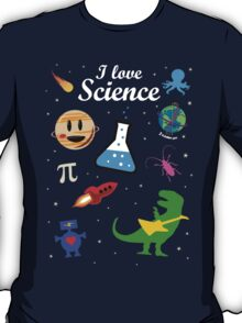 I Love Science T-Shirt