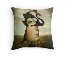 The second look Throw Pillow