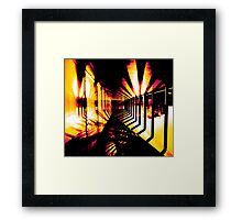 Heliotrope Framed Print