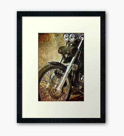 The Work Horse Framed Print