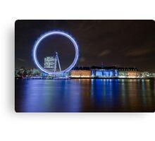 Blue London Canvas Print
