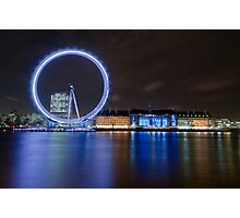 Blue London Photographic Print