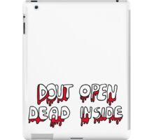 Dead Inside  iPad Case/Skin