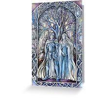 Rory and Nienna Greeting Card
