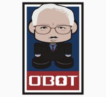 Bernie Sanders Politico'bot Toy Robot 2.0 by Carbon-Fibre Media