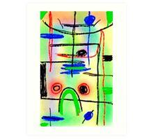 Samsung Galaxy Tab 3 sketch #27 Art Print