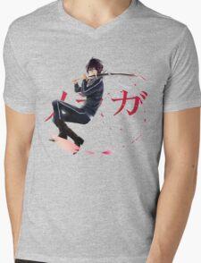 Yato Mens V-Neck T-Shirt