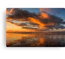 Sunset over Cobden Beach Canvas Print