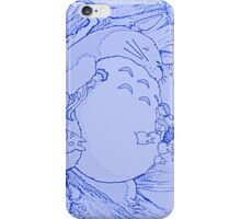 Blue Totoro! iPhone Case/Skin