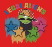 alien games Kids Tee