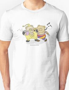 BEARS and FIGHTERS - Double K.O. Unisex T-Shirt