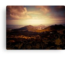 Hawaiian Valley  Canvas Print