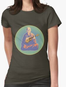 Ukulele Dharma Womens Fitted T-Shirt