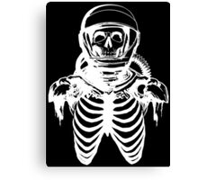 Astronaut Skeleton (White Version) Canvas Print