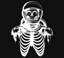 Astronaut Skeleton (White Version) by RorcraftMC