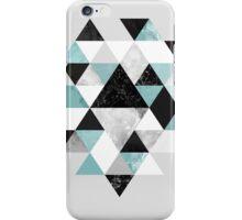 Graphic 202 Turquoise iPhone Case/Skin