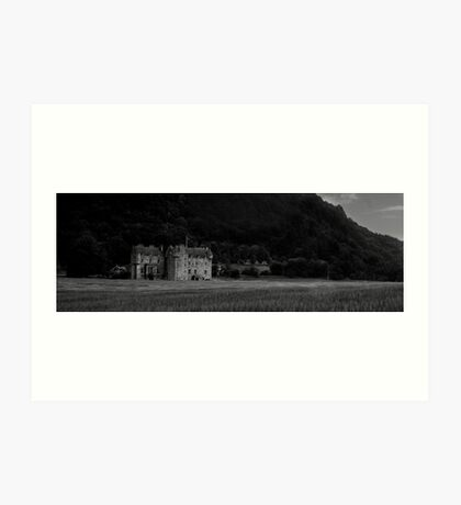 Menzies Castle Art Print