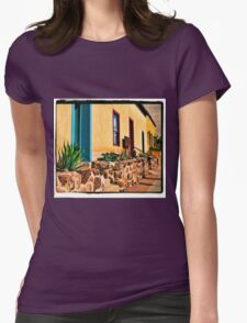 Old Town Tucson Womens Fitted T-Shirt