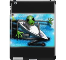 alien surfer iPad Case/Skin