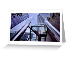 Canary Wharf Architecture Greeting Card