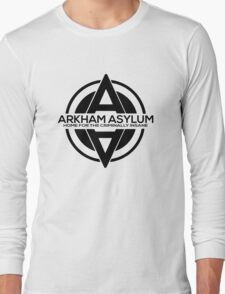 Batman - Arkham Asylum Black Long Sleeve T-Shirt