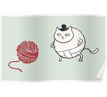Catsumo - the sumo cat Poster