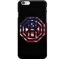 Octagon MMA USA Logo iPhone Case/Skin